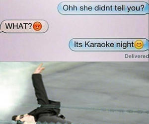 funny, lol, and karaoke image