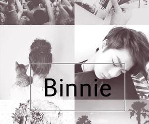 astro, binnie, and moonbin image