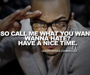 t.i., quote, and text image