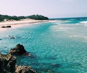 travel, blue, and paradise image