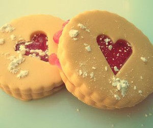 heart, love, and cookie image