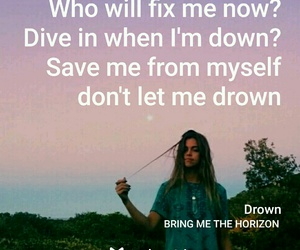 bring me the horizon, cool, and drown image