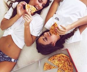 pizza and friends image