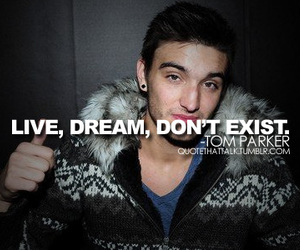 tom parker and the wanted image