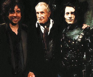 johnny depp, tim burton, and edward scissorhands image