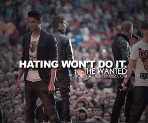 text, the wanted, and nathan sykes image