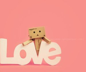 love, danbo, and pink image