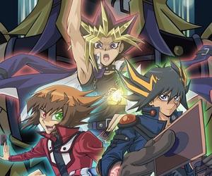 anime, cards, and yu-gi-oh image