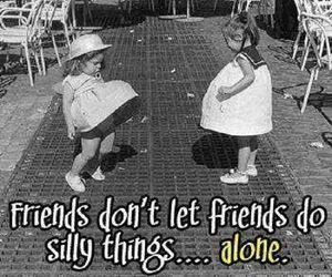 friends, funny, and silly image