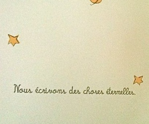 le petit prince, stars, and st exupery image