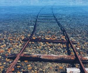 lake, travel, and nature image