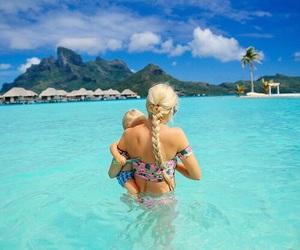 blonde, braid, and paradise image