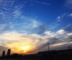 burning, landscapes, and sky image