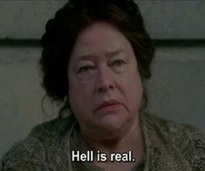 grunge, hell, and ahs image