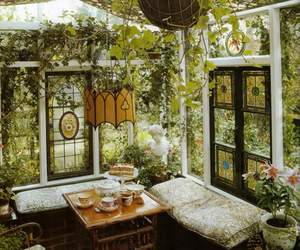 interior design, kawai, and nature image