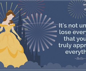 quotes, disney, and belle image