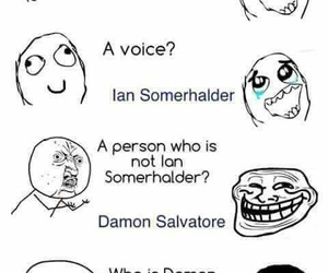 ian somerhalder and damon salvatore image