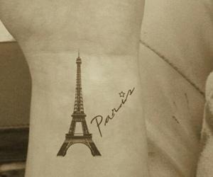 paris and tattoo image