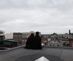 couple, love, and grunge image