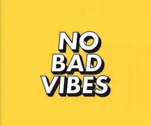 quotes, yellow, and vibes image