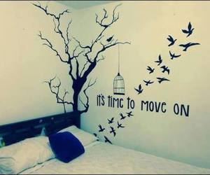 Move, bedroom, and bird image