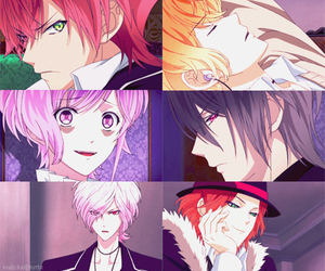 anime, diabolik lovers, and reiji image