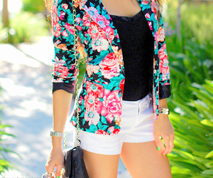 fashion, floral, and style image