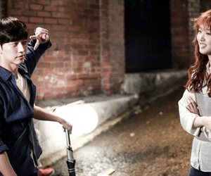 cheese in the trap, couple, and kim go eun image