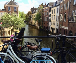amsterdam, bicycle, and canals image