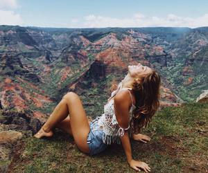 girl, travel, and alexis ren image