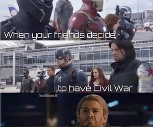 Marvel, civil war, and captain america image