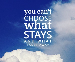 clouds, easel, and quote image
