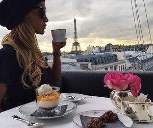 paris, coffee, and breakfast image
