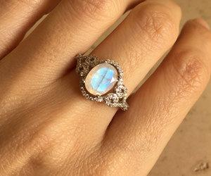 etsy, wedding ring, and engagement ring image