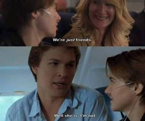 the fault in our stars, love, and movie image