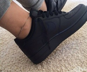 black shoes and nike image