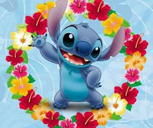 couleurs, disney, and stich image