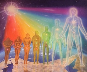 chakras, colors, and life image