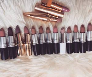 beauty, brown, and Lipsticks image