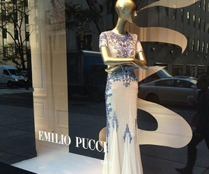 dress, emilio pucci, and fashion image