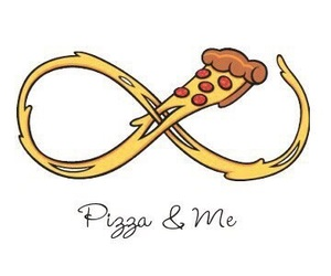 pizza, forever, and food image