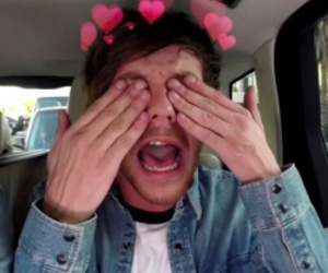 louistomlinson and one direction image
