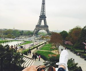 eiffel tower, french, and paris image