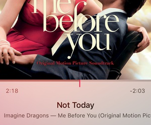 me before you, not today, and imagine dragons image