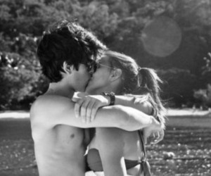 couple, kiss, and cute image