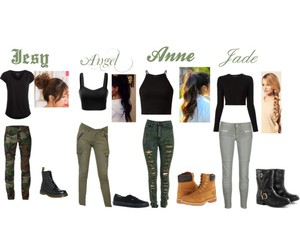 army, clothes, and girls image