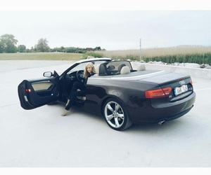 audi, driving, and me image