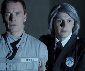 magneto, quicksilver, and evan peters image