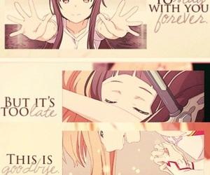 asuna, anime, and yui image