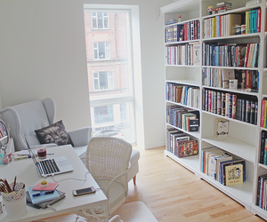 books, relax, and room image